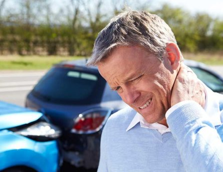 What are the long-term effects of untreated whiplash?