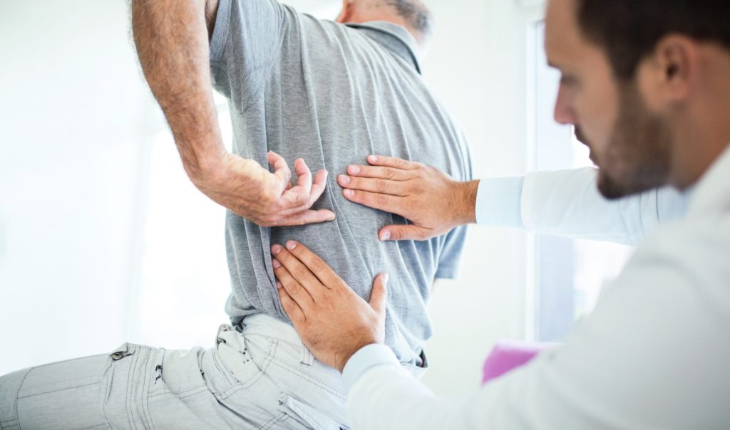 Middle Back Pain After A Car Accident